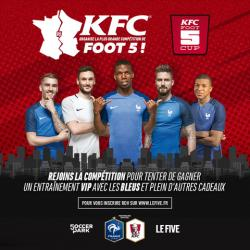 KFC LANCE LA FOOT 5 CUP !